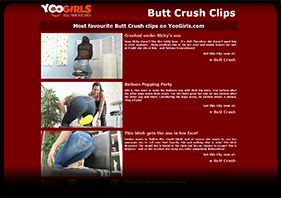 Butt Crush Clips